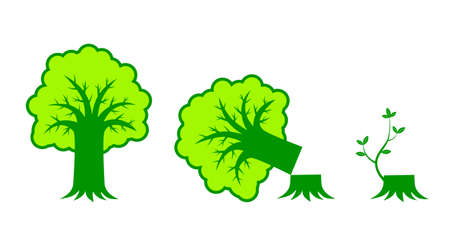 Tree icon      Stock Vector - 12220384