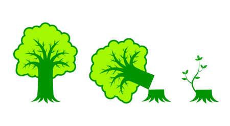 Tree icon Stock Vector - 12220384