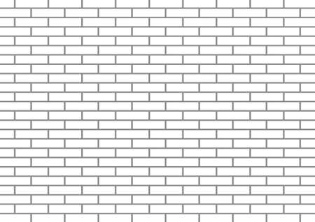 brickwork: White brick wall