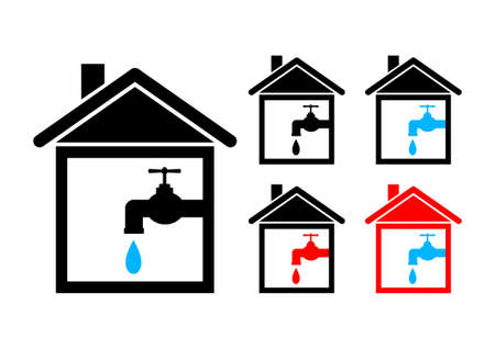 House icons Stock Vector - 12495144