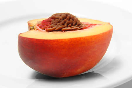Ripe peach Stock Photo - 12685724