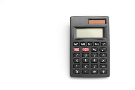 Black calculator photo