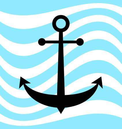 Anchor icon Ilustrace
