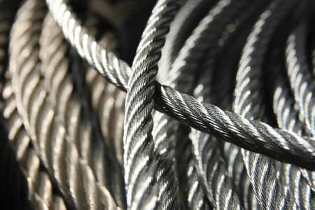 Galvanized wire rope Stock Photo - 12892304