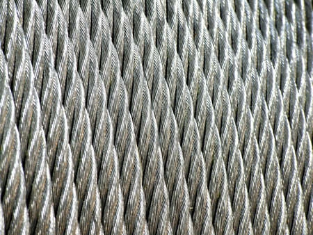 Galvanized wire rope Stock Photo - 12984339