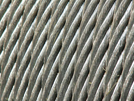 Galvanized wire rope Stock Photo - 12984336