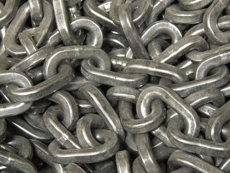 Close-up of chain  Stock Photo - 12984337