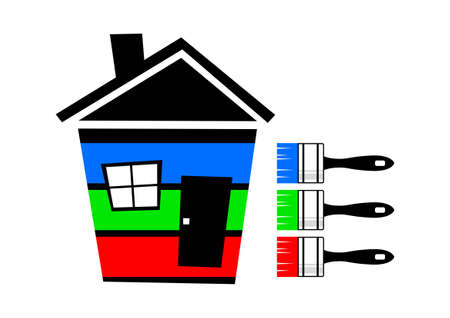 Colorful house Stock Vector - 13038154