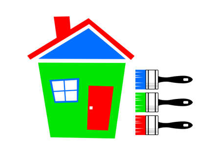 Colorful house Stock Vector - 13038156