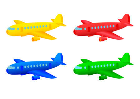 Collection of planes Stock Vector - 13067962
