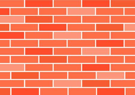paredes de ladrillos: Rojo ladrillo-trabajo