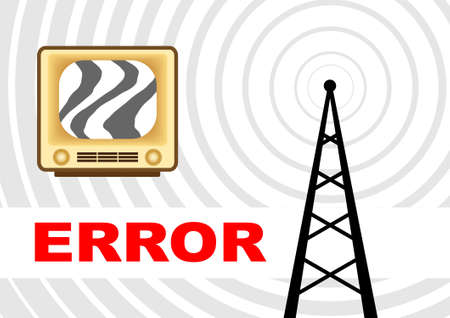Retro TV  Stock Vector - 13684580