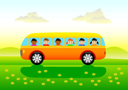 Spring trip  Stock Vector - 13815329