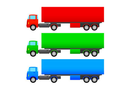 Truck collection Stock Vector - 13815309