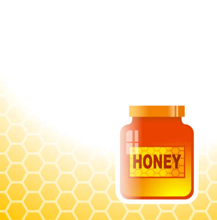 sweetener: Honey background