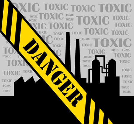Toxic factory Stock Vector - 14438376