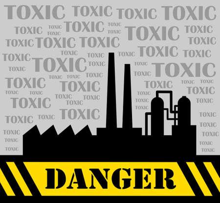 Toxic factory Stock Vector - 14438375