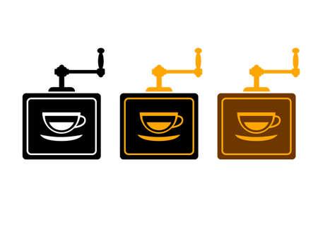 Kaffeemühle Vektorgrafik