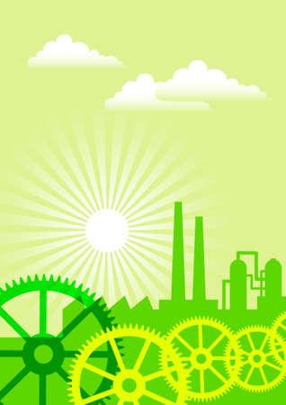 Eco industry Stock Vector - 14709650