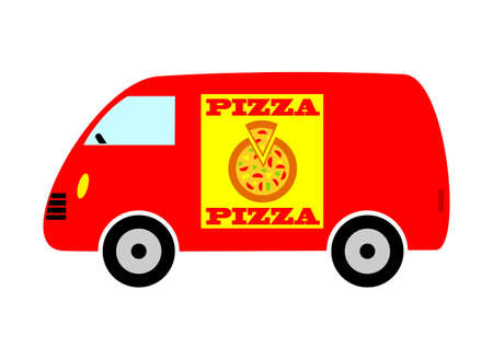 Delivery van Stock Vector - 14804503