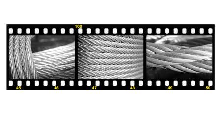 Galvanized wire rope Stock Photo - 14984236