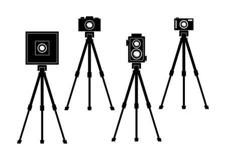 Los iconos de cámara