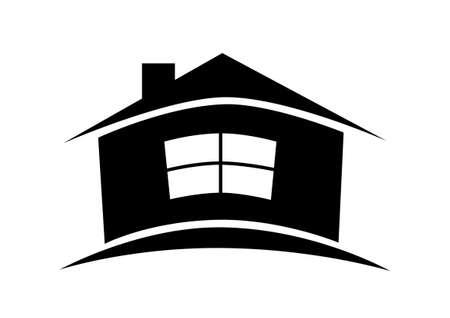 silhouette maison: House icon