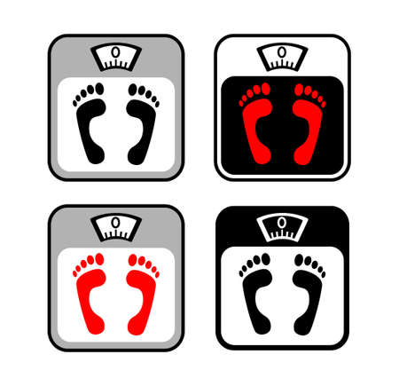 Scale icons Stock Vector - 15503651