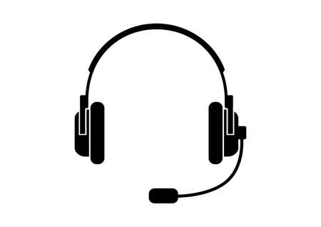 Headphones icon Stock Vector - 15274716