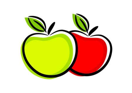 healthy lifestyle: Apple icon