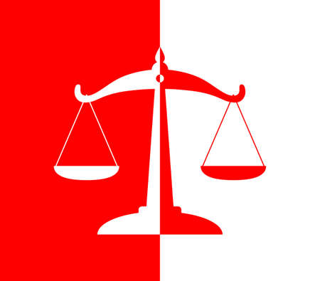 scale of justice: Scale icon