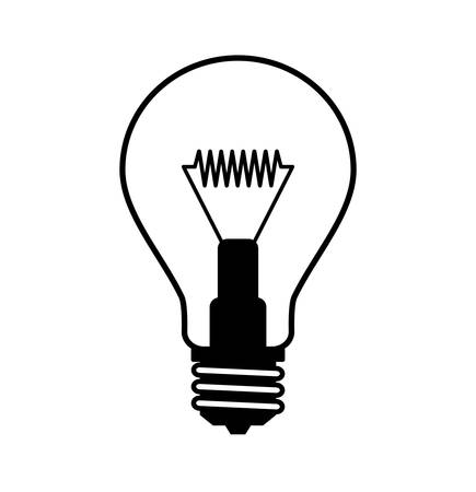 Light bulb icon Фото со стока - 15918962