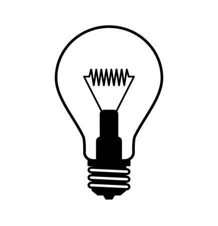 Symbol Glühbirne Standard-Bild - 15918962