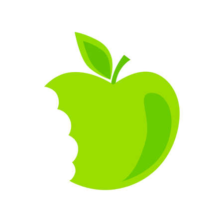 Green apple Stock Vector - 16125365