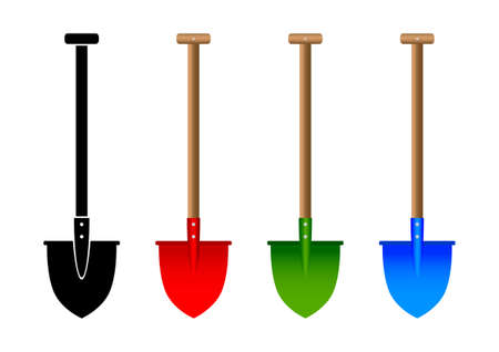 Spade collection Vector