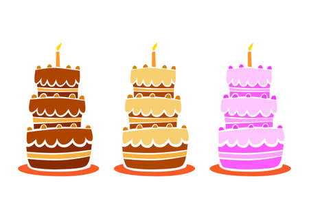 Collection of cake