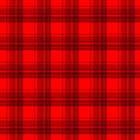 Red flannel background Vector