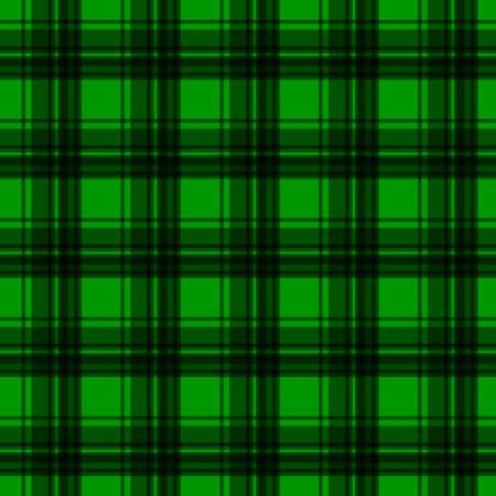 flannel: Green flannel background Illustration