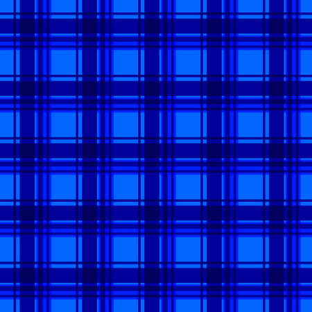 Blue flannel background Vector