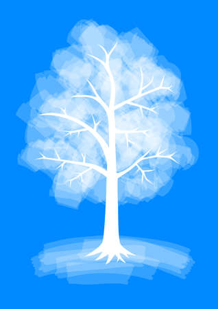Winter tree Stock Vector - 16797927