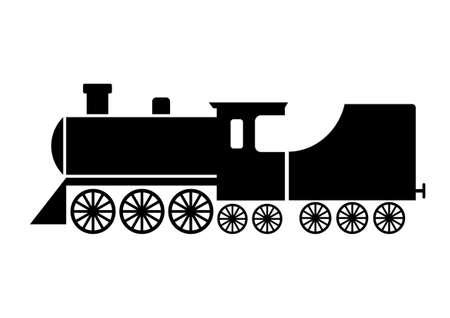 locomotora: Locomotora icono Vectores