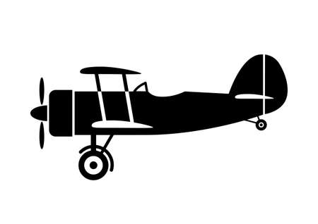 Flugzeug-Symbol Standard-Bild - 16915181