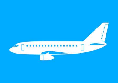 airplane icon: Aircraft icon Illustration