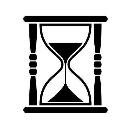 reloj de arena: Reloj de arena icono Vectores