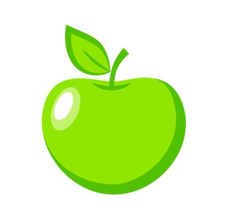 ripened: Green apple
