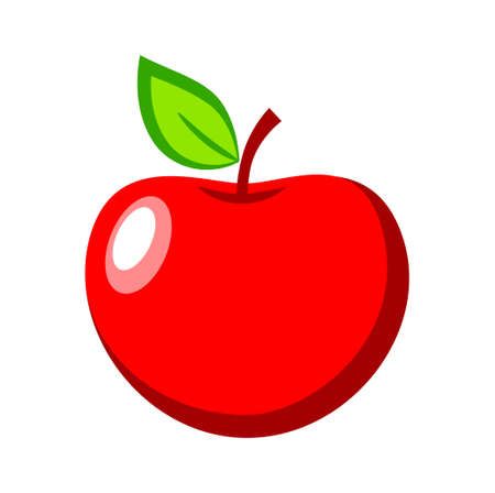 Red apple Stock Vector - 17319364