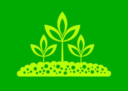 Plant icon Stock Vector - 17536845