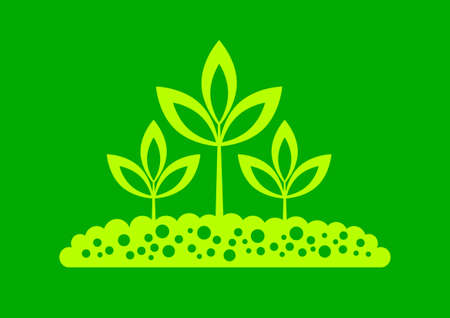 Plant icon Stock Vector - 17536845