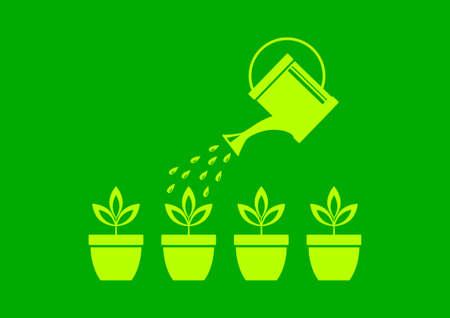 Gardening Stock Vector - 17536813