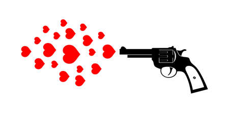 Revolver icon Stock Vector - 17628360